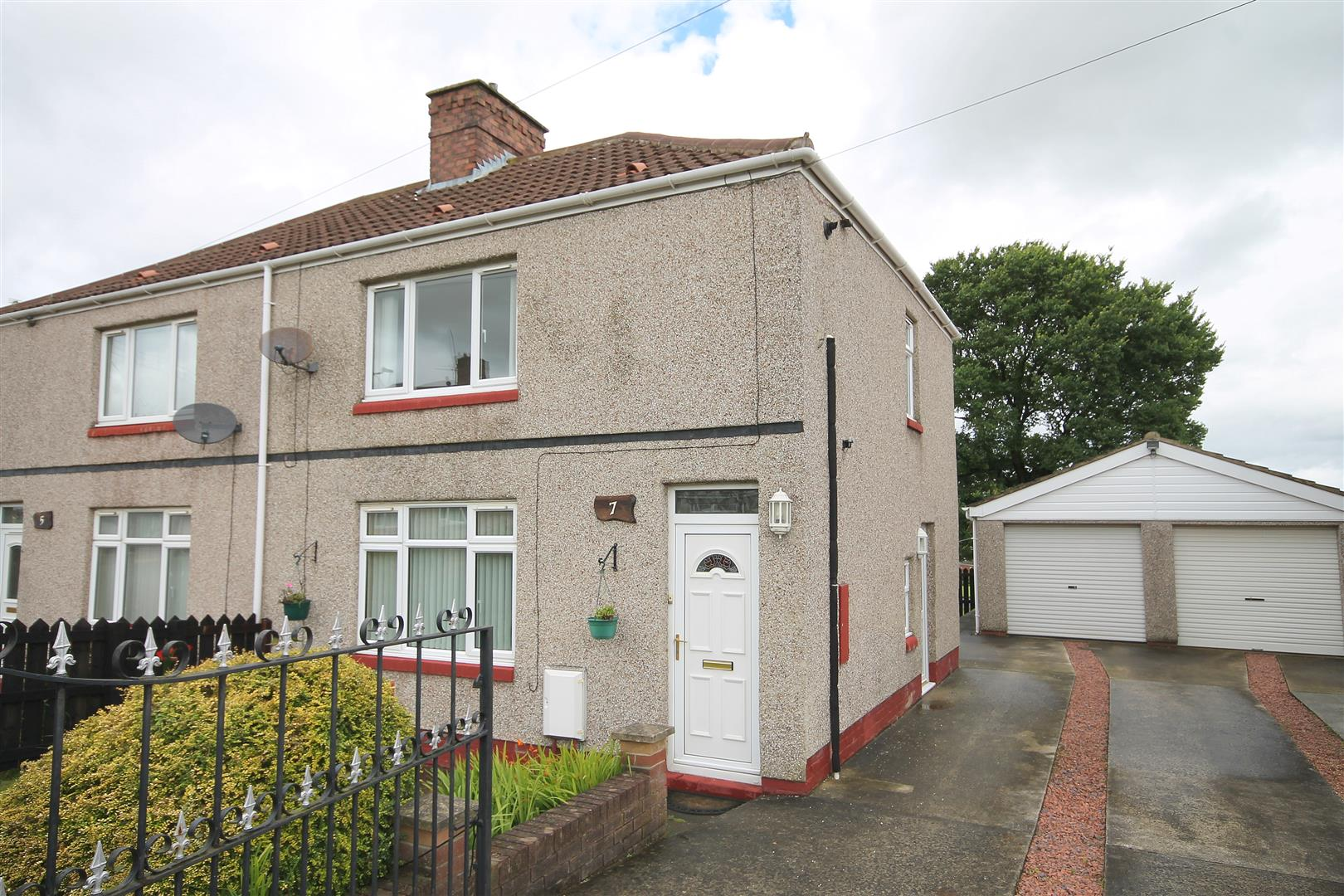 2 Bedrooms Semi Detached House for sale in Ash Terrace, West Cornforth, Ferryhill
